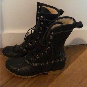 LL Bean Shearling Boot